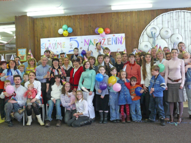 Z oslavy 5. výročí sboru